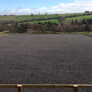 Equestrian Arena - Eco Rubber Chippings